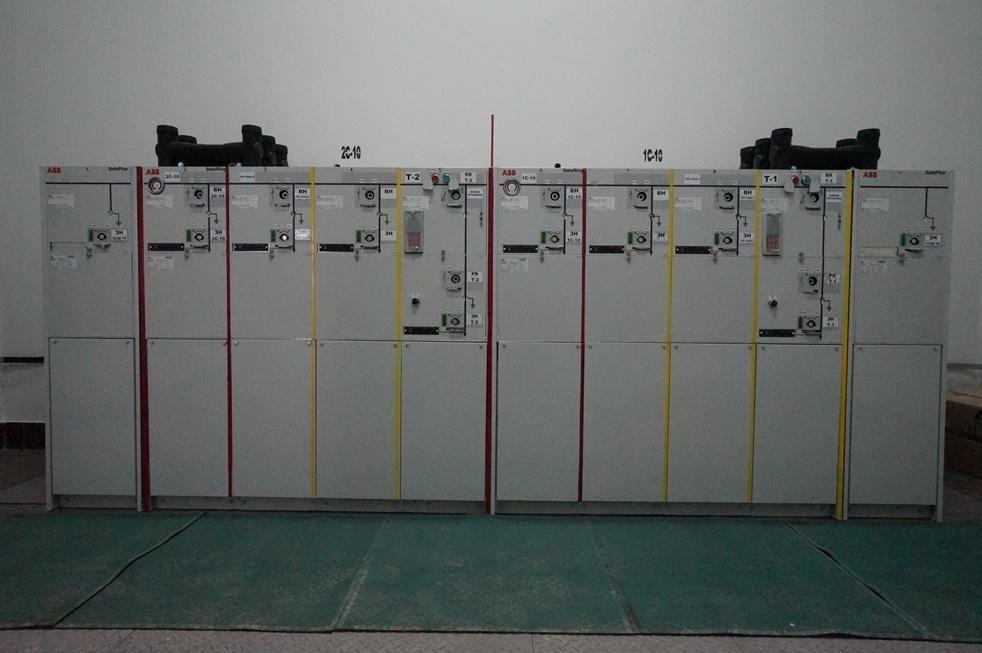 Распределительное устройство 10кВ Safering ABB 2015 год