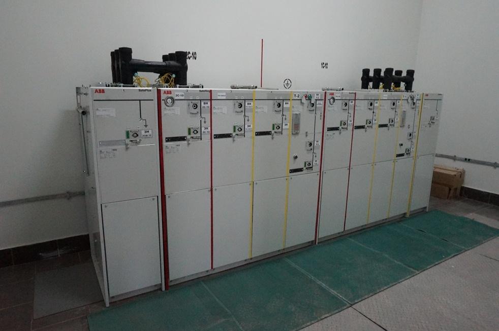 Распределительное устройство 10кВ Ялта 2015 год